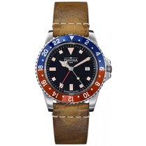 Davosa Vintage Diver GMT Herrenuhr 162.500.95