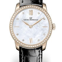 Girard Perregaux 1966 30MM Pink Gold Dial Mother-of-pearl...