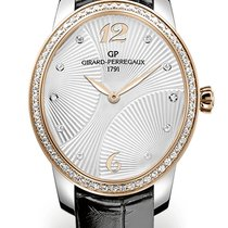 Girard Perregaux CAT'S EYE MAJESTIC Steel/Pink Gold Dial...