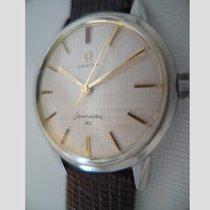 Omega Seamaster 30 rare linen dial, serviced cal 286 vintage 1962