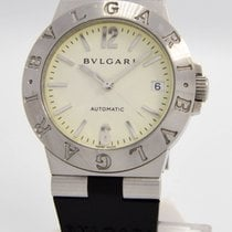 "Bulgari Men's  ""LCV-35-S Diagono"" Watch - 35mm..."