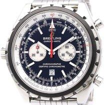 ブライトリング (Breitling) Chronomatic Steel Automatic Mens Watch...