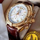 Breitling Crosswind Special Yellow Gold Pearl Dial 43 mm (2005)