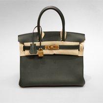 Hermès Birkin Bag (30cm) Togo Grün mit kompletter Hermes OVP...