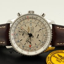 Breitling Navitimer World Chronograph Steel Beige Dial 46mm...