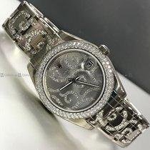 Rolex - Date Just Customized Diamond Bazel
