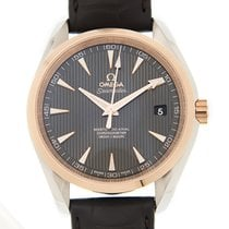 歐米茄 (Omega) Seamaster 18k Rose Gold And Steel Gray Automatic...