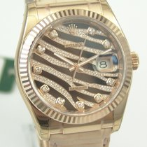 "Rolex DateJust Everose-Gold  ""Zebra"""