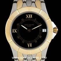 Patek Philippe Steel & Gold Black Dial Neptune Gents 5080/1