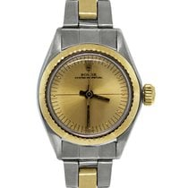 Rolex 6724 Oyster Perpetual Champagne Dial Ladies Watch