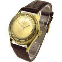 Zenith Vintage 18k Gold Automatic Wristwatch
