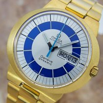 Omega Geneve Dynamic 1960s Swiss Made Mens Automatic Gold...