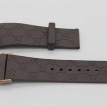Gucci 26mm Genuine Replacement Strap Men's Brown Gucci ...