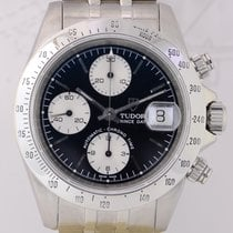 Tudor Prince Date Chronograph Jubiléband black Panda Dial rar...