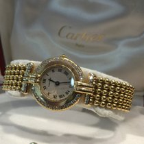 Cartier Colisee Lady Yellow Gold Diamonds 18 krt  (25 mm)
