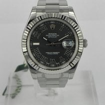 ロレックス (Rolex) DATEJUST II 41MM QUADRANTE NERO ROMANI
