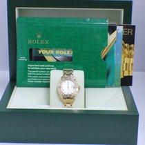 Rolex Pearlmaster  80318 18K YG Factory Diamond Bezel &...