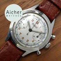 Gallet 1960 Vintage Chronograph Venus 150 Manual Men´s Stainless