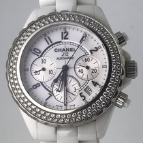 Chanel J12 Automatic Chronograph Diamonds 41mm