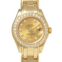 롤렉스 (Rolex) デイトジャスト 69298G パールマスター ダイヤベゼル レディース 自動巻 W番 003273500