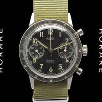 Airain Chronograph Military NO Type 20, Valjoux 22, RARE