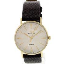 Movado Vintage Movado Kingmatic 14K Yellow Gold Watch