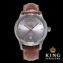 Alpina Alpiner Automatic Grey and Brown Men's Watch
