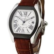 Cartier W6206018_brown Roadster S with Brown Leather Strap -...