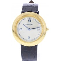 Chaumet Paris 13A-684 18k Yellow Gold Automatic Watch