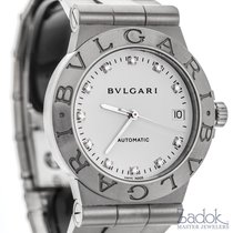 Bulgari Diagono Stainless Steel 35mm Automatic Ladies Watch...