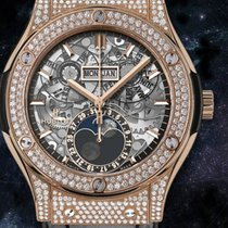 Hublot MOONPHASE AEROFUSION GOLD PAVE' CLASSIC 517OX0180LR...