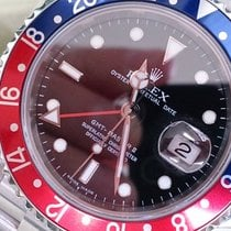 Rolex GMT II ST REF 16710 BLRO+CAL 3186+Rect++LC100++ B&P+...