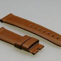 Panerai Ersatzarmband, original, braun, Kalbsleder, 24 auf 22,...