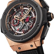 Hublot King Power Miami Heat 18K Solid Rose Gold Automatic