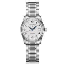 Longines Master Automatic Stainless Steel White Dial Ladies...