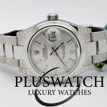 Rolex Oyster Perpetua Lady-Datejust 28mm Silver  Dial