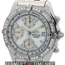 ブライトリング (Breitling) Chronomat Stainless Steel Factory Diamond...