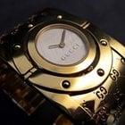 Gucci Twirl Gold mit Goldband Reifuhr