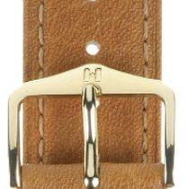 Hirsch Uhrenarmband Camelgrain honig M 01009110-1-15 15mm