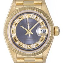 Rolex President Ladies 18k Yellow Gold Watch 69178