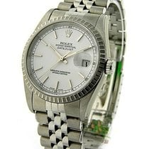 Rolex Used 16220_white_stick_used Mens Datejust in Steel -...