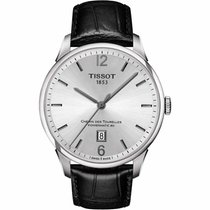 Tissot Chemin Des Tourelles Men's Automatic White Dial Watch