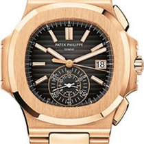 Patek Philippe Nautilus 5980/1R-001 18K Rose Gold on Bracelet