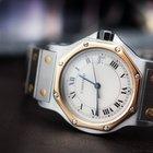 Cartier Santos Steel/Gold Quartz Date