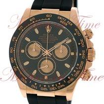 Rolex Cosmograph Daytona, Black Dial, Black Cerachrom Monobloc...
