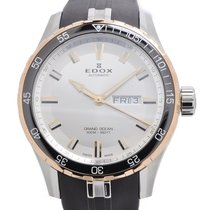 Edox Grand Ocean Chronograph Day Date Watch 88002-357RCA AIR