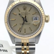 Rolex Ladies Datejust Stainless Steel & Gold 26mm Tuxedo...