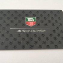 TAG Heuer International Guarantee Card, Blank