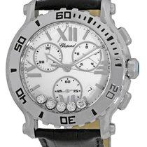 "Chopard ""Happy Sport"" Quartz Chronograph Strapwatch."