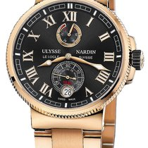 Ulysse Nardin Marine Chronometer Manufacture 43mm 1186-126-8m/42